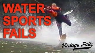 Vintage Fails Compilation #15 - Water sports fails - Old but funny!
