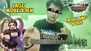 Download lagu LAGU MOBILE LEGEND 2020 PAKE GITAR AKUSTIK | iri bilang boss 😟