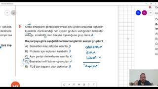 89) Can KÖNİ -  Toplumsal Yapı - Test II (AYT-Felsefe) 2021