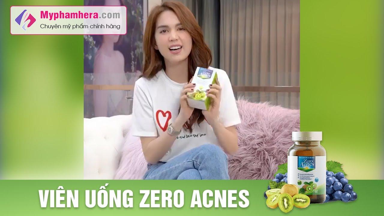 Ngọc Trinh 🌿 Review Viên Uống Hoa Quả Trị Mụn ZERO ACNES ⭐ Myphamhera.com