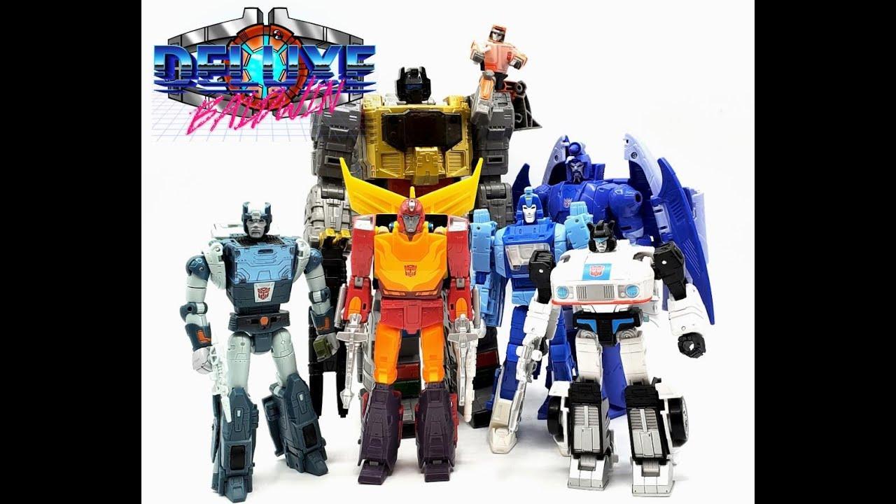 Transformers Studio Series 86 Wave 1 Line Overview by Deluxe Baldwin