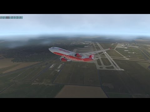 X Plane 11 | A330 | Cinematic | Departure from EDDP (Leipzig)