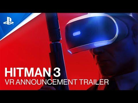 HITMAN 3 - VR Announcement Trailer | PS VR