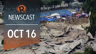 Rappler Newscast: Visayas quake, pork barrel scam, US debt ceiling