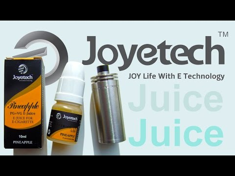 Joytech Pineapple e-liquid review sweet vape