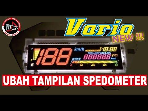 modifikasi Speedometer New Vario 150 New Vario 125  VARIASI