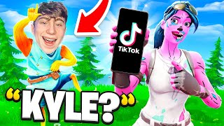 I let Piece Control Kyle Tryout for my TikTok Clan... (Fortnite)