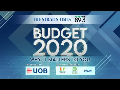 Singapore Budget 2020: Why It Matters To You | The Straits Times x Money FM 89.3