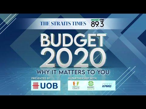 Budget 2020 | LIVESTREAM | The Straits Times x Money FM 89.3