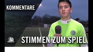 Die Stimmen zum Spiel | SV Nettelnburg-Allermöhe U17 – Niendorfer TSV U17 (B-Regionalliga Nord)