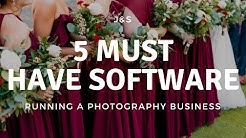 BEST Softwares for Running a Photography Business