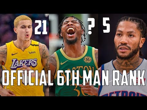Ranking EVERY 6th Man From ALL 30 NBA Teams 2020!
