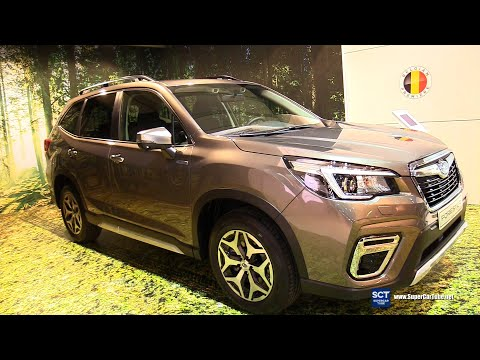 2020 Subaru Forester e Boxer Luxury - Exterior Interior Walkaround - 2020 Brussels Auto Show