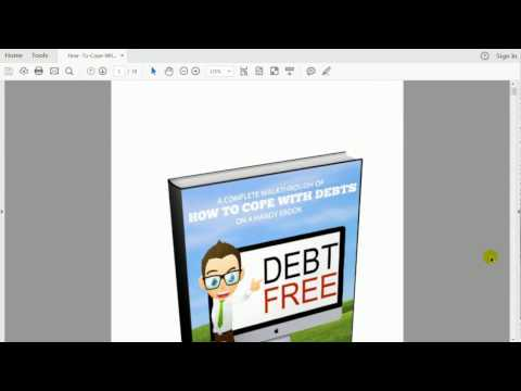 Debts Free eBook Preview - How to cope with debts in the USA
