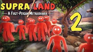 Supraland - Прохождение игры на русском - Дорога к красному кристаллу [#2]   PC