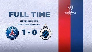PARIS SAINT-GERMAIN 1 - 0 CLUB BRUGGE : QUALIFIED !