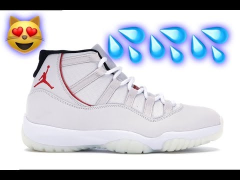 New Air Jordan 11 Retro Platinum Tint