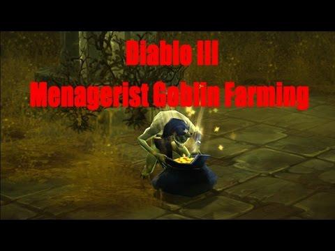 Diablo 3 Hardcore Menagerist Goblin Farming PS4/Xbox1