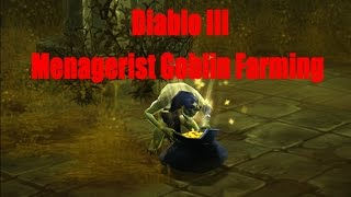 Diablo 3 Hardcore Menagerist Goblin Farming PS4/Xbox1