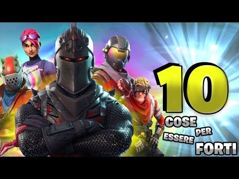 10 COSE PER ESSERE FORTI SU FORTNITE ⛏️ Fortnite Battle Royale - Pazzox