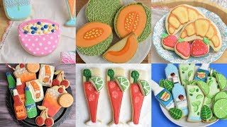 AMAZING FOOD AND DRINKS COOKIES by HANIELA