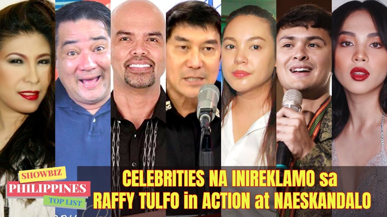 Mga CELEBRITIES NA Ipina-TULFO at INIREKLAMO sa Raffy Tulfo in Action