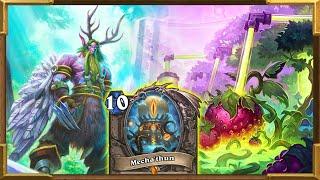 Hearthstone: Mecha'thun OTK Druid | The Nature Will Rise And Win | Wild Is Malfurion's Home!