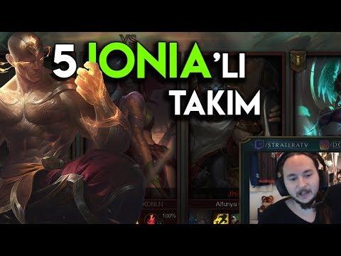 Dereceli'de 5 Ionia Şampiyonu!