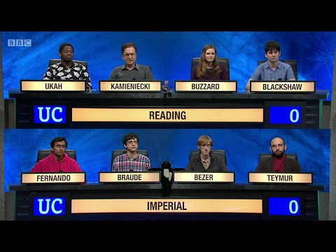 University Challenge S45E10 -  University of Reading vs Imperial College London