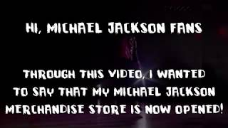 MICHAEL JACKSON MERCHANDISE ANNOUNCEMENT