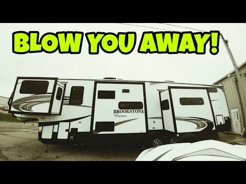 Exclusive! Amazing And HUGE Fifth Wheel! All New Brookstone 344FL!