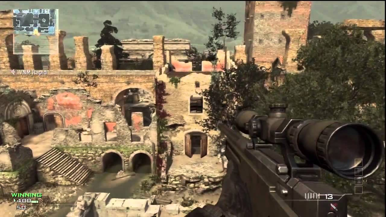 New Mw3 Spot Tutorial On Top Of Erosion Invisible Wall Youtube