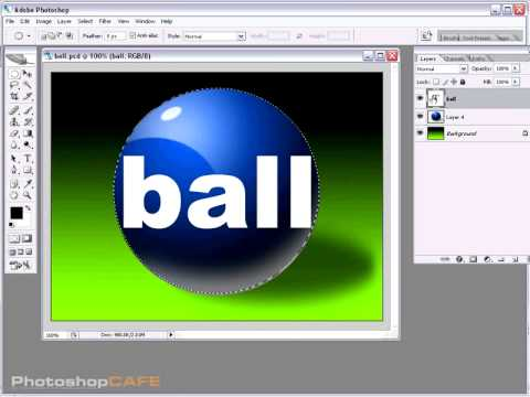 Photoshop Tutorials: Sphere Text Tutorial
