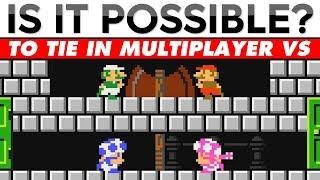 Is It Possible To TIE In Mario Maker 2 Multiplayer Versus???