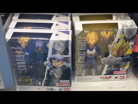 New Dragonball Z Super Toys Actionfigures At Toysrus Night Hunt 2017