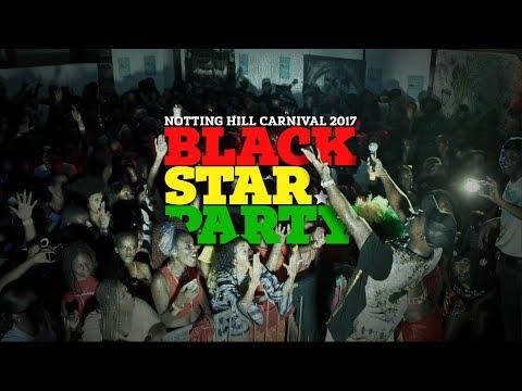 FUSE ODG & CHAKABARS | BLACK STAR PARTY | NOTTING HILL CARNIVAL 2017
