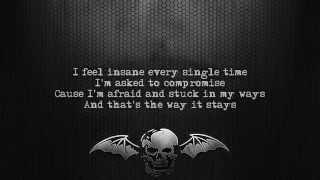 Avenged Sevenfold - Almost Easy [Lyrics on screen] [Full HD]
