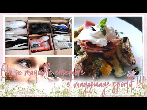 vlog-famille-du-22/08-magasinage,-maquillage-et-légumes-rôti-buratta-jambon-de-bayonne...