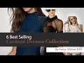 6 Best Selling Cocktail Dresses Collection By Yoins, Winter 2017