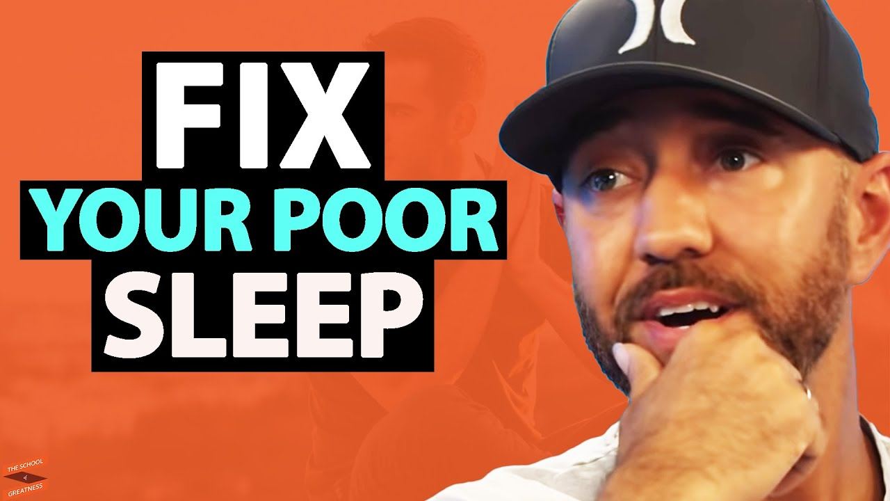 The 5 REASONS Why SLEEP Is More Important Than DIET   Shawn Stevenson & Lewis Howes