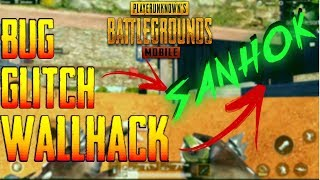 💥 PUBG MOBILE BUG WALL HACK/GLITCH SANHOK