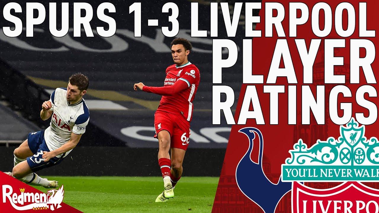 Tottenham vs. Liverpool player ratings: Trent Alexander-Arnold ...