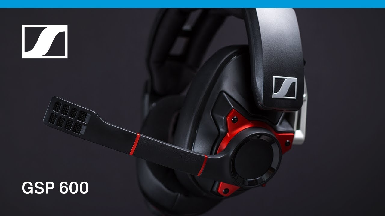 Sennheiser GSP 600 Professional Gaming Headset Noise-Cancelling