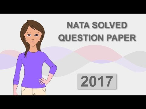 NATA 2017 QUESTION PAPER