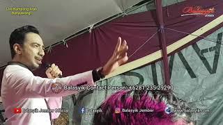 Balasyik Jember Live Kampung Arab Banyuwangi with Reza DAA penonton heboh pingin selfie