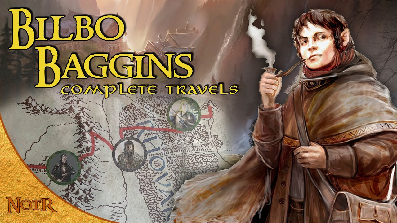 The Complete Travels of Bilbo Baggins | Tolkien Explained