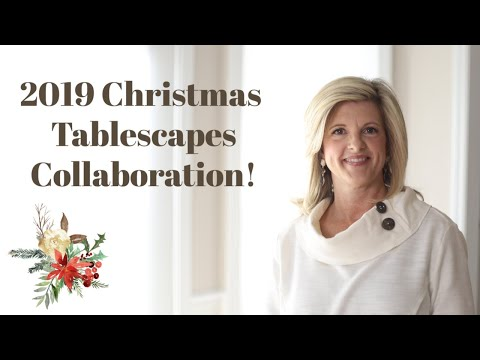 2019 Christmas Tablescapes Collab: Christmas Party Tips, Dessert Table, & Charcuterie Board