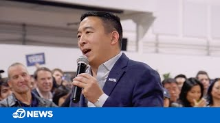 Andrew Yang's 'Yang Gang' drives unconventional campaign | Chasing California 2020