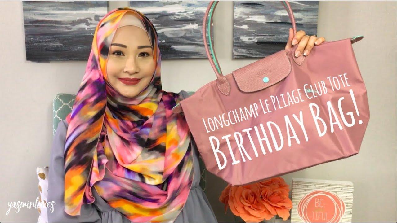 Longchamp Le Pliage Club Tote | Birthday Bag Reveal!