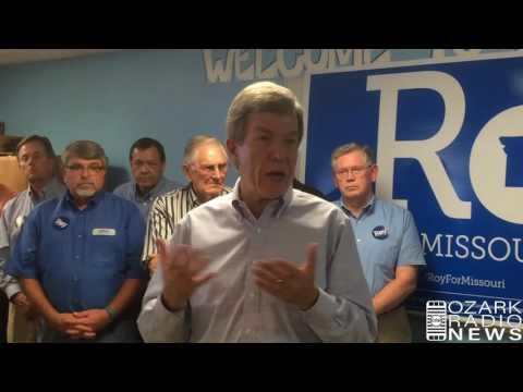 Ozark Radio News - Sen. Roy Blunt visits West Plains